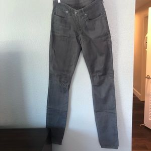 EUC Helmut Lang Grey Jeans sz30 made in USA